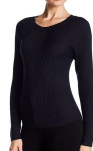 ASTR The Label Adeline Pullover Navy Sweater